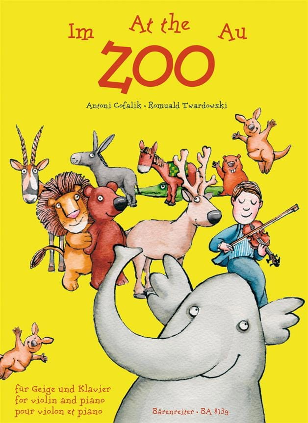 Cofalik Antoni / Twardowski Romuald - At the Zoo - Partition - di-arezzo.co.uk