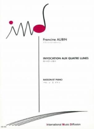 Invocation aux quatre lunes - Francine Aubin - laflutedepan.com