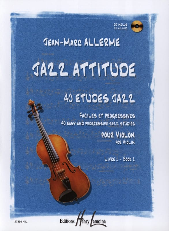 Jean-Marc Allerme - Jazz Attitude Volume 1 - Partition - di-arezzo.es