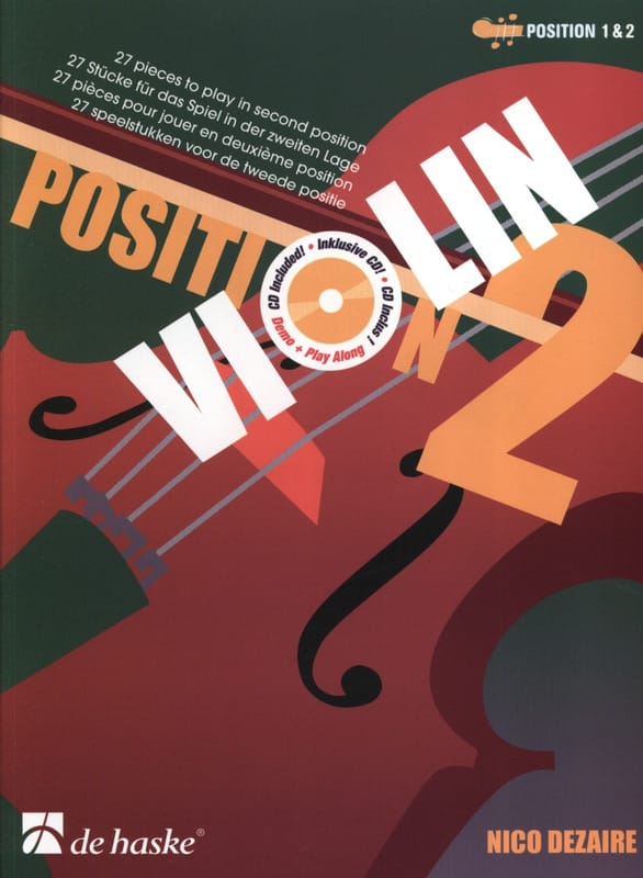 Nico Dezaire - Position 2 - Violon - Partition - di-arezzo.fr