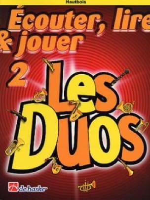 Ecouter Lire et Jouer - Les Duos Volume 2 - 2 Hautbois - laflutedepan.com