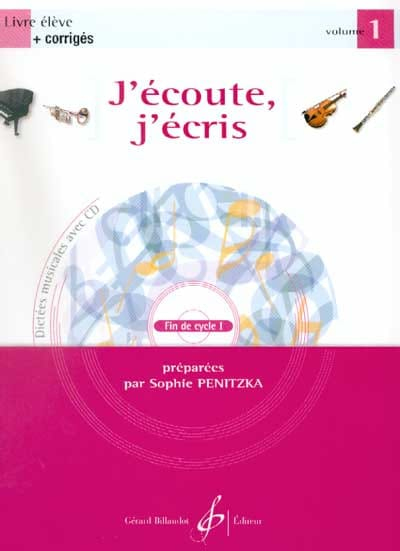 Sophie Penitzka - I listen, I write Volume 1 - Partition - di-arezzo.co.uk