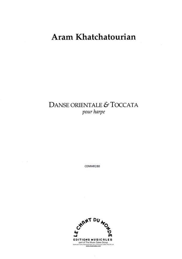 Danse orientale et Toccata - Aram Khatchaturian - laflutedepan.com