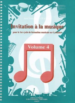 Invitation A la Musique - Volume 4 - laflutedepan.com