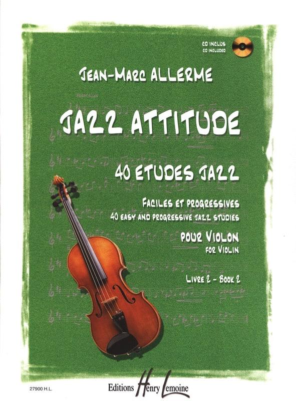 Jean-Marc Allerme - Jazz Attitude Volume 2 - Partition - di-arezzo.es