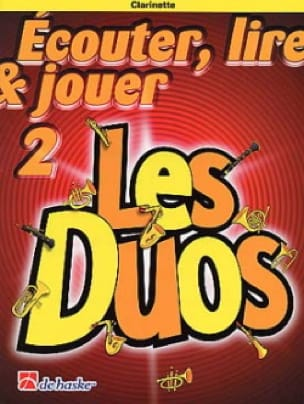 DE HASKE - Play Play and Play - Les Duos Volume 2 - 2 Clarinettes - Partition - di-arezzo.co.uk