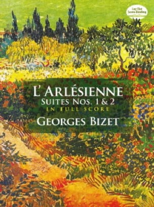 BIZET - The Arlésienne Suites N ° 1 - 2 - Full Score - Partition - di-arezzo.com