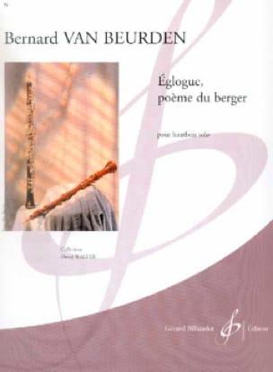 Eglogue, Poème du Berger - Beurden Bernard Van - laflutedepan.com