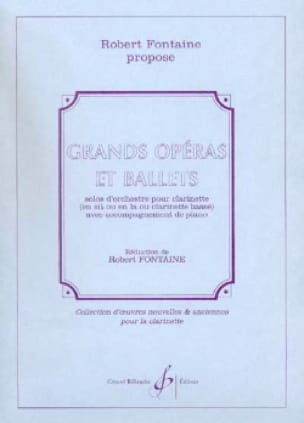 Grands opéras et Ballets - Robert Fontaine - laflutedepan.com