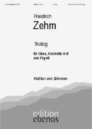 Trialog - Oboe Klarinette Fagott - Partitur + Stimmen - laflutedepan.com
