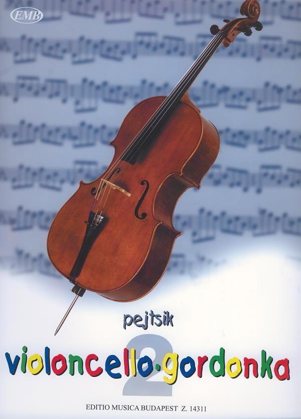 Arpad Pejtsik - Violoncello Schule Volume 2 - Partition - di-arezzo.fr