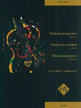 Méthode Progressive Volume 2 - Claudio Camisassa - laflutedepan.com