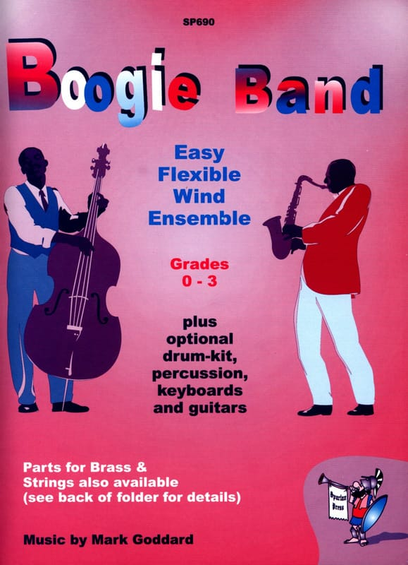 Boogie Band - Wind Ensemble - Mark Goddard - laflutedepan.com