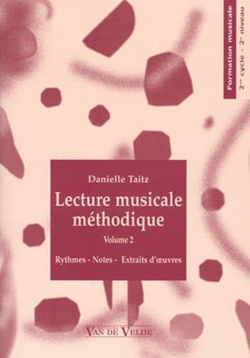 Lecture Musicale Méthodique Vol.2 - Danielle Taitz - laflutedepan.com