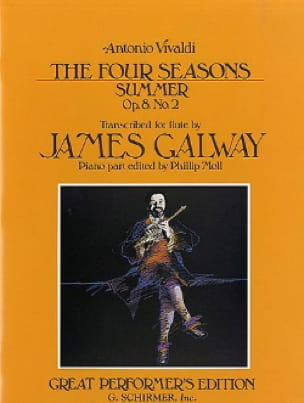 The Four Seasons Summer - Flute And Piano - VIVALDI - laflutedepan.com