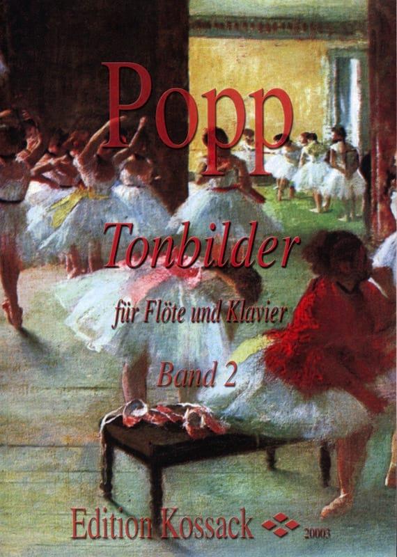 Wilhelm Popp - Tonbilder - Volume 2 - Partition - di-arezzo.co.uk