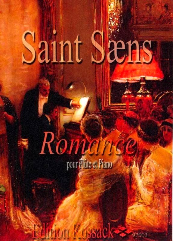 Camille Saint-Saëns - Romance Op. 37 - Partition - di-arezzo.es