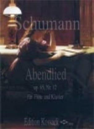 SCHUMANN - Abendlied op. 85 Nr. 12 - Flöte Klavier - Partition - di-arezzo.com