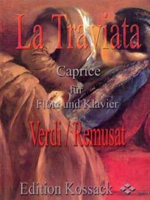 La Traviata : Caprice - Remusat Jean - Partition - laflutedepan.com
