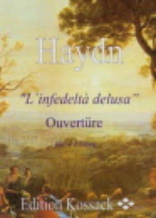 L'infedelta Delusa Ouvertüre - HAYDN - Partition - laflutedepan.com