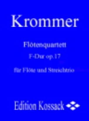 Franz Krommer - Flötenquartett F-Dur op. 17 - Flöte Streichtrio - Partitur Stimmen - Partition - di-arezzo.com