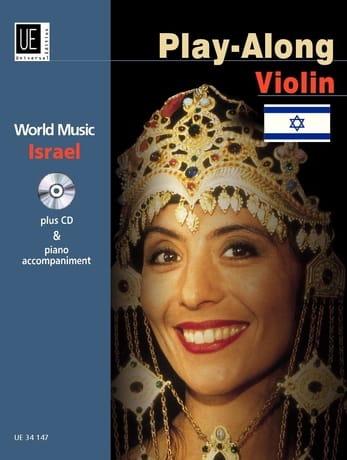 Play-Along Israel - Violon / Piano - laflutedepan.com