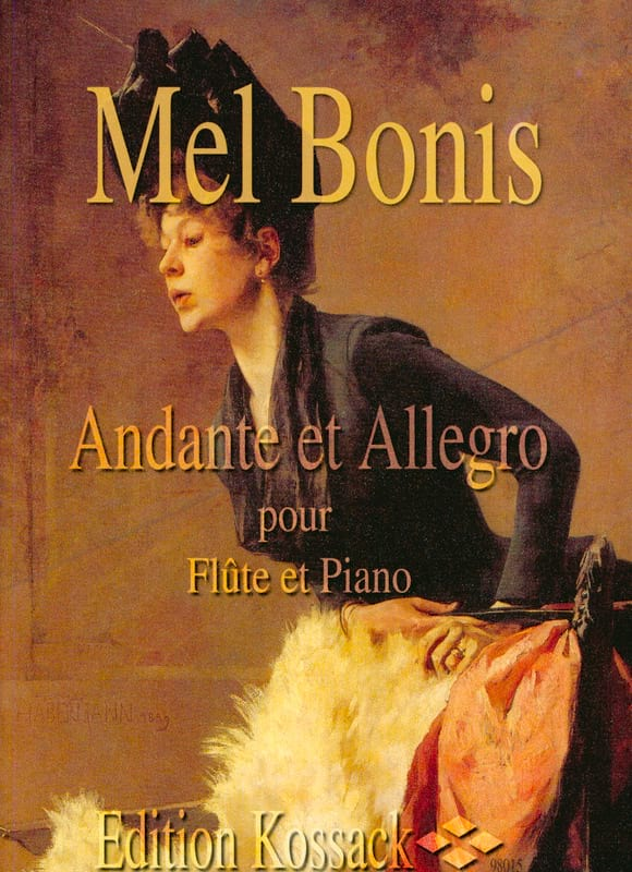 Mel Bonis - Andante and Allegro - Partition - di-arezzo.co.uk