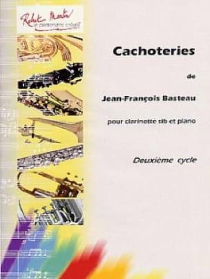 Cachoteries - Jean-François Basteau - Partition - laflutedepan.com