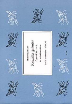 Philippe Esprit (L'Aîné) Chédeville - Sonatilles Galantes Op 6 N ° 1 A 3 - Partition - di-arezzo.it
