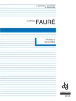 Pavane et Sicilienne - 4 guitares - FAURÉ - laflutedepan.com