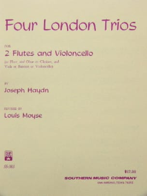 HAYDN - 4 London Trios - Partition - di-arezzo.fr