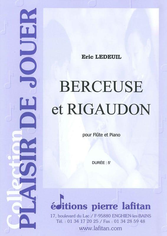 Eric Ledeuil - Canción de cuna y Rigaudon - Partition - di-arezzo.es