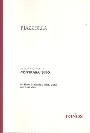 Contrabajisimo - Score + Parts - Astor Piazzolla - laflutedepan.com