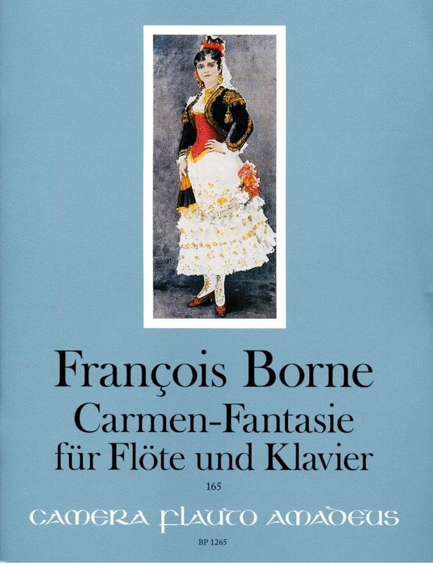 François Borne - Carmen-Fantasy - Partition - di-arezzo.com