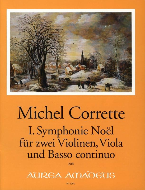 Symphonie Noël n° 1 -2 Violinen, Viola, Bc - laflutedepan.com