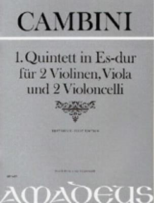 Quintett Nr. 1 in Es-Dur -Partitur + Stimmen - laflutedepan.com