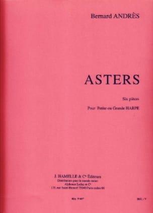 Asters - Bernard Andrès - Partition - Harpe - laflutedepan.com
