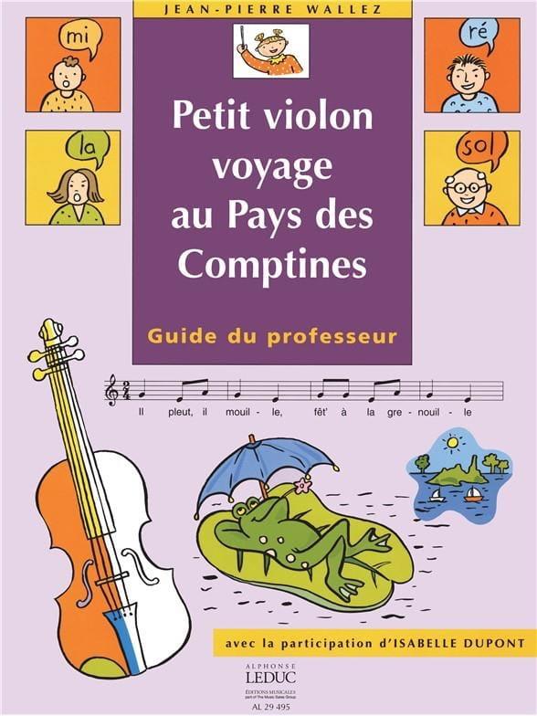 Petit violon au Pays des Comptines - Prof. - laflutedepan.com