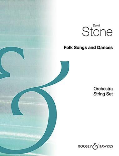 Folk Song And Dances - Stone - Partition - laflutedepan.com