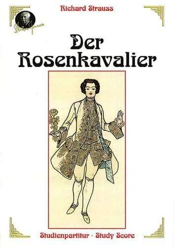 Richard Strauss - Der Rosenkavalier - Partition - di-arezzo.co.uk