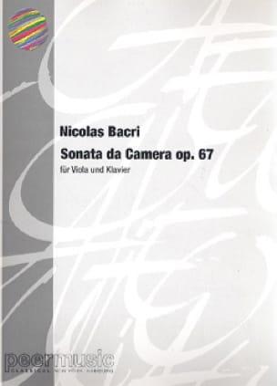 Sonata da Camera op. 67 - Alto piano - laflutedepan.com