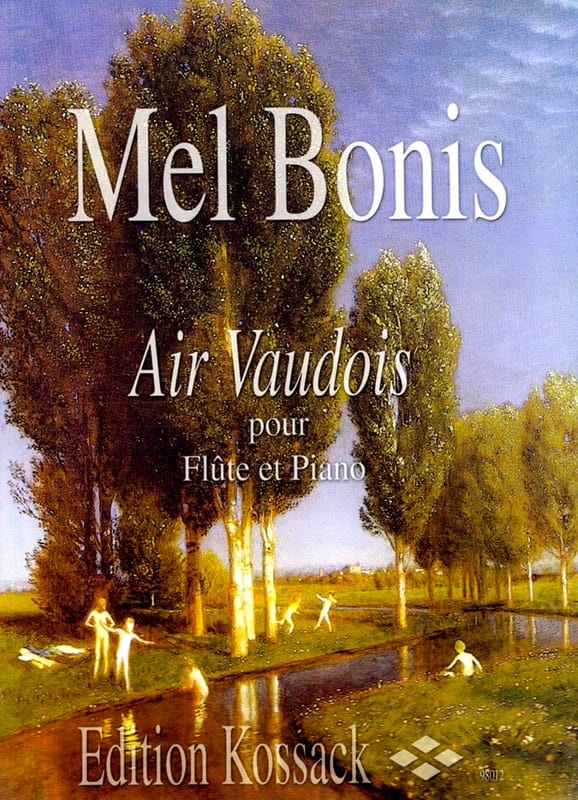 Mel Bonis - Vaudois air - Partition - di-arezzo.co.uk