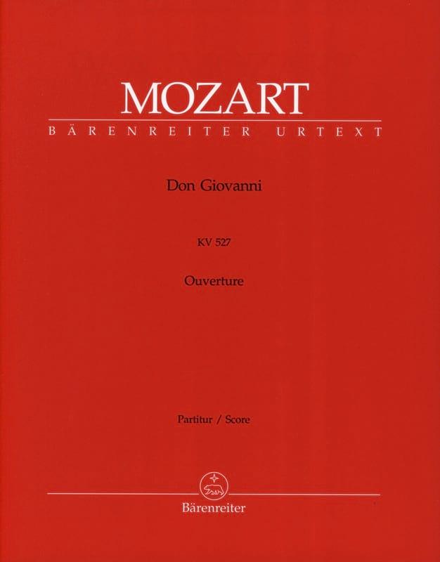 Don Giovanni, Ouvertüre KV 527 - Partitur - MOZART - laflutedepan.com
