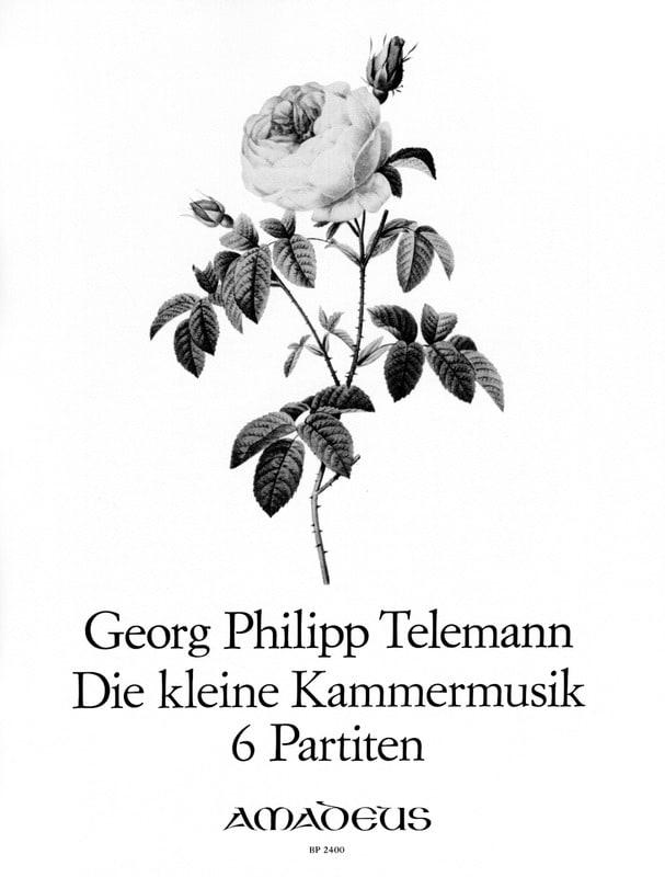TELEMANN - Die Kleine Kammermusik - 6 Partitas - Partition - di-arezzo.co.uk
