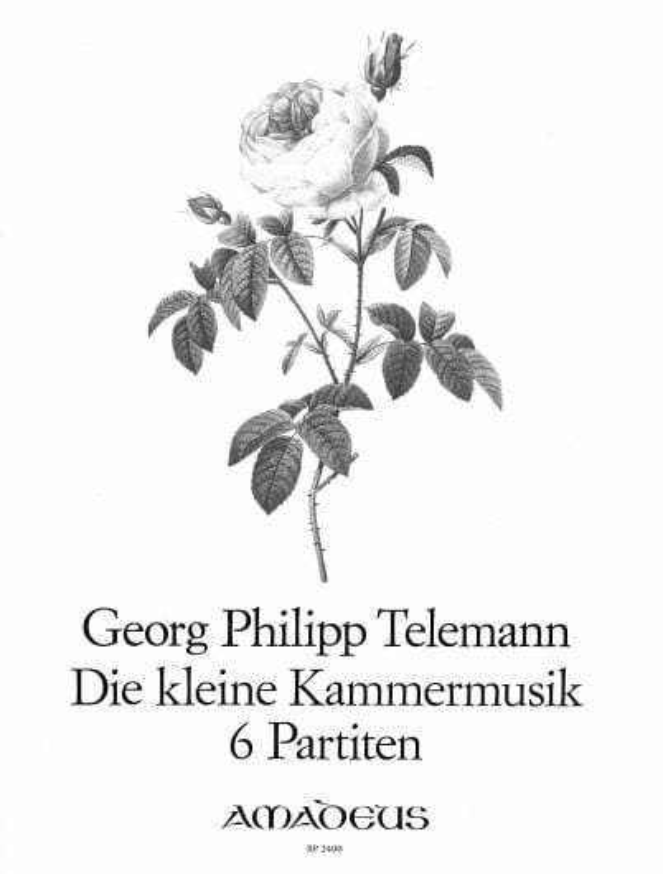 Die Kleine Kammermusik - 6 Partitas - TELEMANN - laflutedepan.com