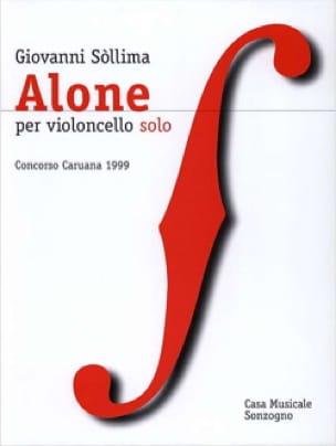 Alone - giovanni Sollima - Partition - Violoncelle - laflutedepan.com