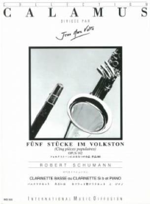 5 Pièces Populaires Op.102 - SCHUMANN - Partition - laflutedepan.com