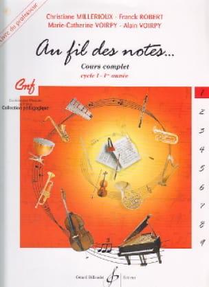 Millerioux Chr. / Robert Fr. / Voirpy M.-C. et A. - En las Notas - Volumen 1 - Profesor - Partition - di-arezzo.es