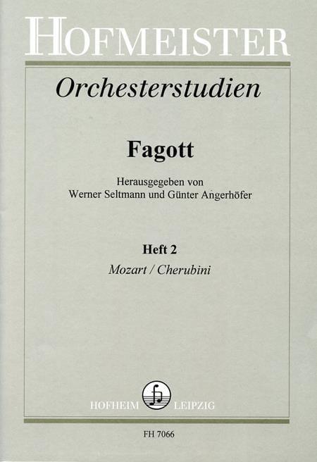 Orchesterstudien - Fagott - Heft 2 - laflutedepan.com