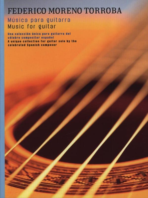 Music for guitar - Federico Moreno-Torroba - laflutedepan.com